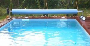 enrouleur de bache de piscine